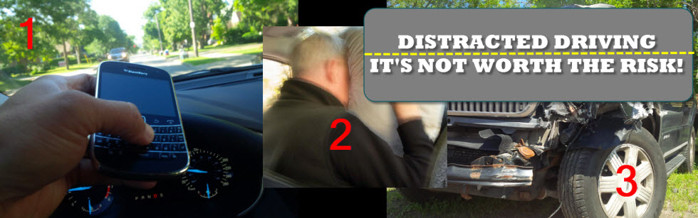 Distracted Driving banner image
