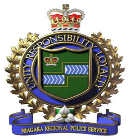 Crest of the Niagara Regional Police Service