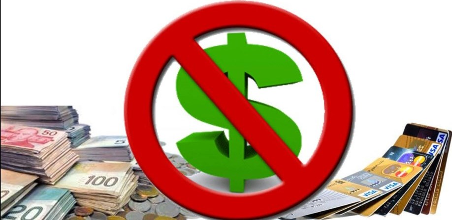 no money graphic