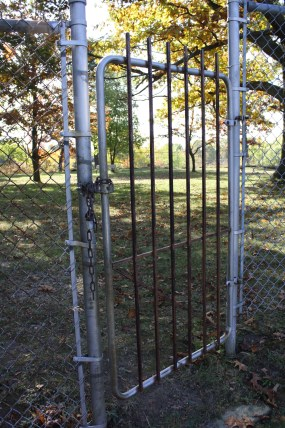 Secure fence and gate