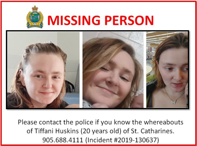 missing person photo of tiffani huskins