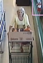 unknown female suspect