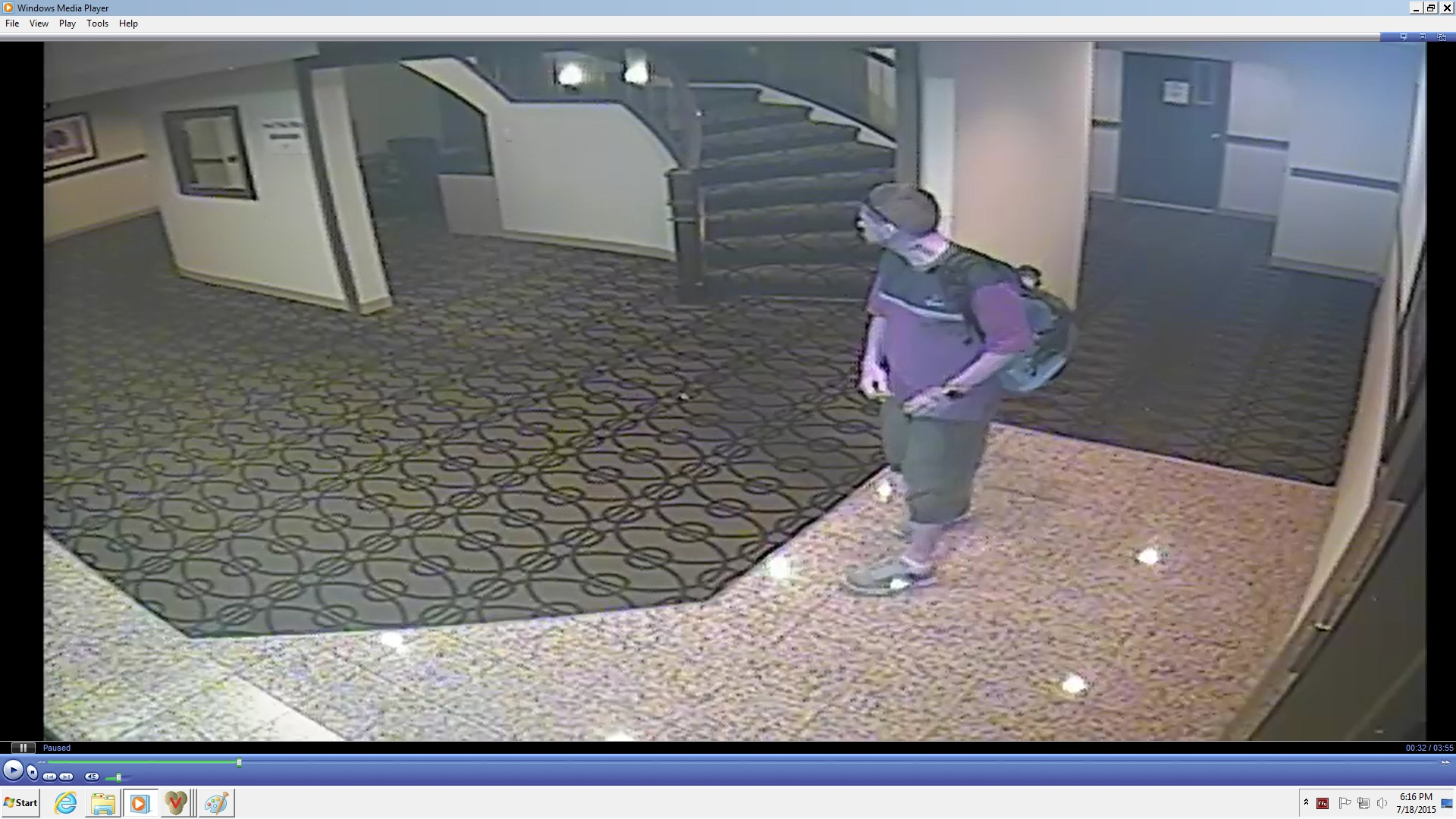 unknown male suspect