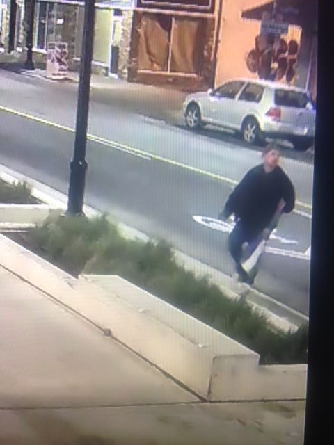 Graffiti Suspect - downtown St. Catharines