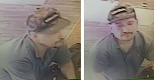 Suspect to identify for theft of donation box