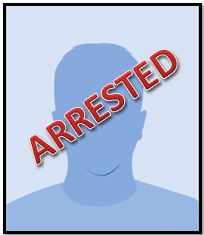 male arrested silhouette