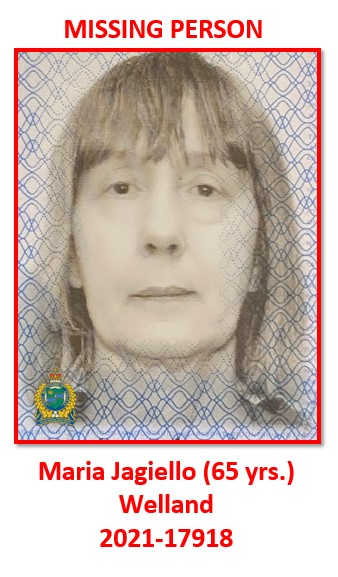 missing female Maria Jagiello