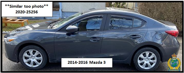 photo grey Mazda 3 (2014-2016)