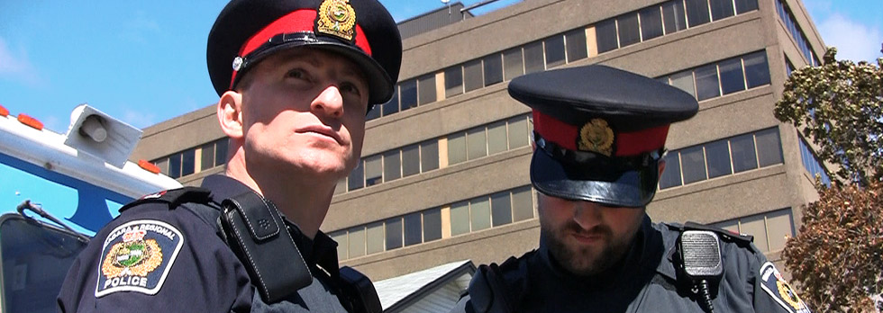 Niagara Regional Police Service Officers