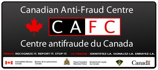 Canadian anti fraud centre logo